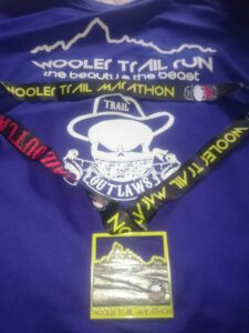 Wooler tshirt and medal